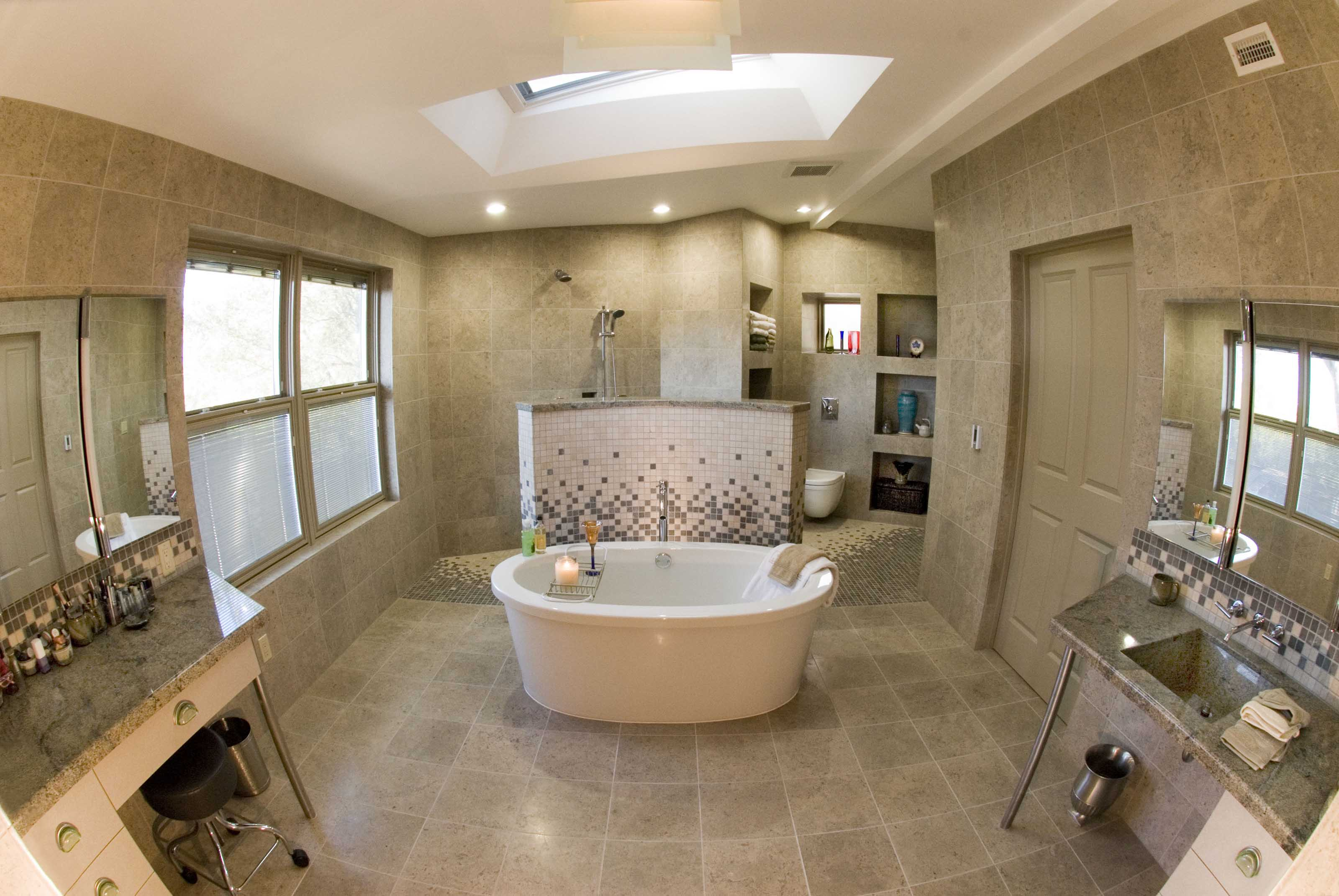 Accessible Master Bathroom