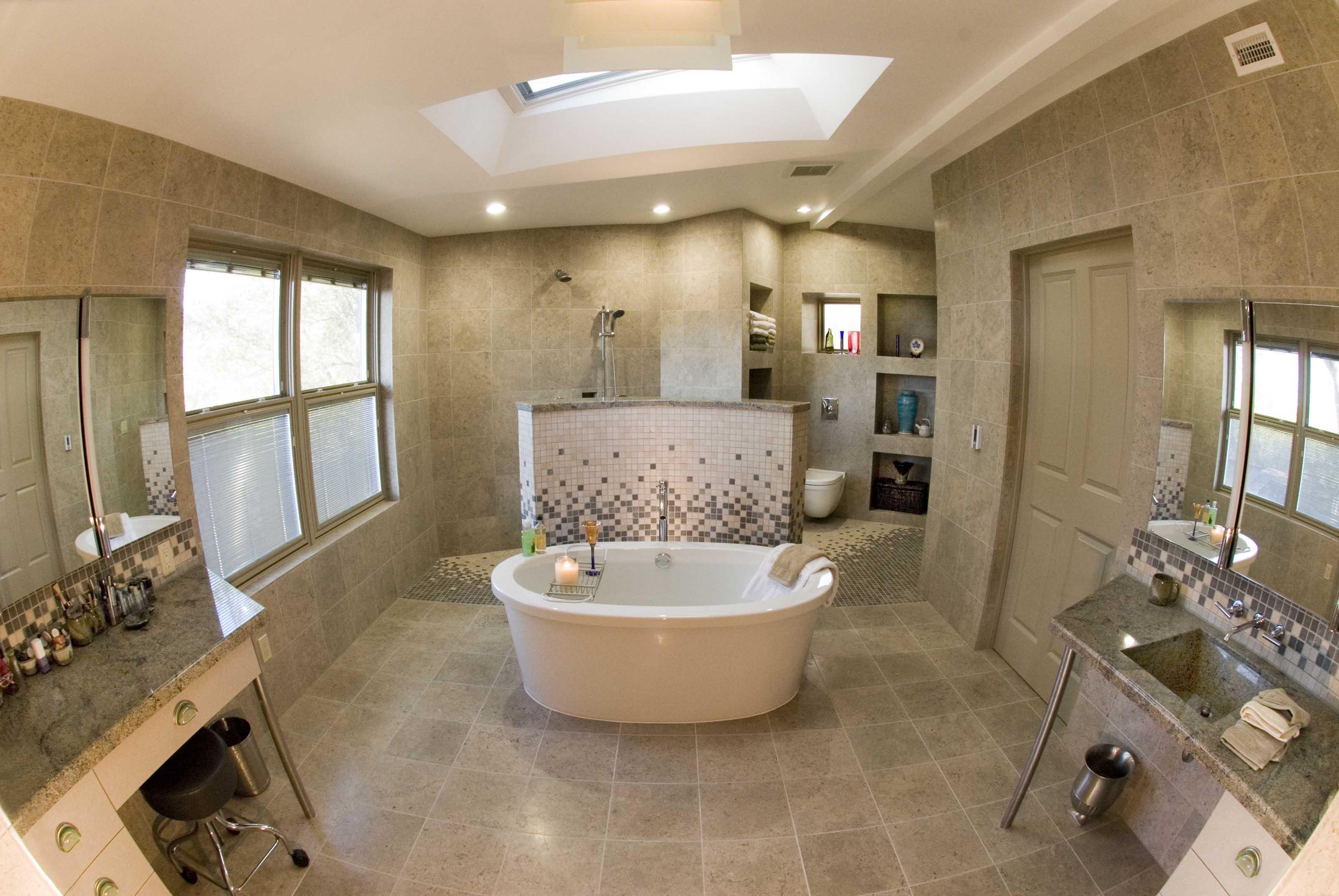 Accessible Master Bathroom